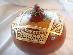 Gourd Art for Sale | Gourd Gallery 2 - Heart Song Gourd Art