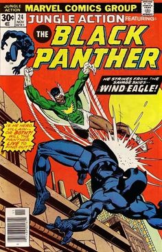 Jungle Action 24 Marvel 1976 FN VF Black Panther Wind Eagle Final IssueCondition Fine ~ Very FineShipping Shipped in a box, sandwiched between rigid cardboard Marvel Comics, Marvel Comic Books, Comic Book Characters, Comic Book Heroes, Comic Books Art, Comic Character, Comic Art, Book Art, Black Characters