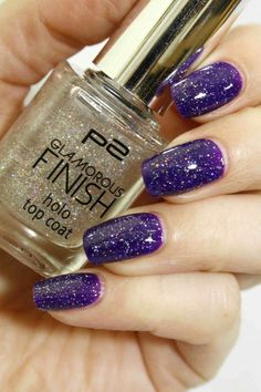 P2 Glamorous Finish holo top coat
