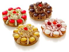 Collection Saint Honoré d'Arnaud Lahrer Patisserie Fine, French Patisserie, Eclairs, Profiteroles, Sweet Pastries, French Pastries, Bakery Recipes, Dessert Recipes, Pasta Choux