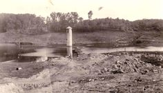 The railroad pump tower