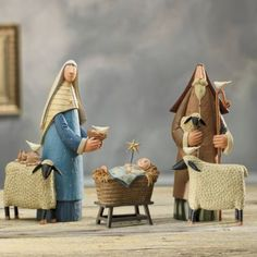 Love this ....... First Christmas 3-piece Nativity Set @ Country Door   $89.99 ~ 10/09/2014
