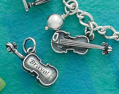 Summer Collection - Violin Charm #JamesAvery