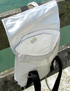 sail bag made of recycled (used) sailcloth