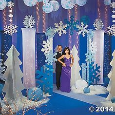 Winter wonderland decorating ideas decorating ideas for Winter dance decorations