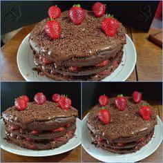 Bolo de chocolate maravilhoso sem glúten sem lactose e sem açúcar