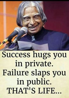 Abdul Kalam Quotes For Success and Pin On Teen's Words Apj Quotes, Motivational Picture Quotes, Life Quotes Pictures, Inspirational Quotes About Success, Real Life Quotes, Life Lesson Quotes, Reality Quotes, Success Quotes, Success Poster