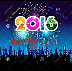 Buon 2016 a tuttiiii!!! Happy new year!!!!