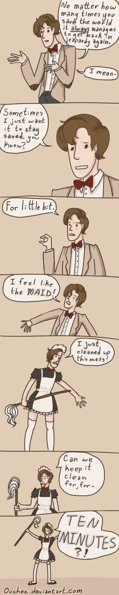 The Doctor Rants by ~Ouchez on deviantART