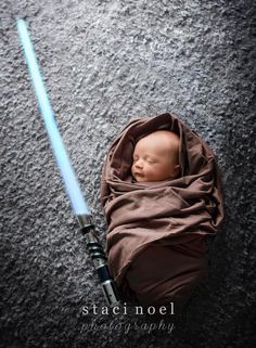 This Force-ful fellow: | 22 Gloriously Geeky Newborns Who Are Already Winning At Life