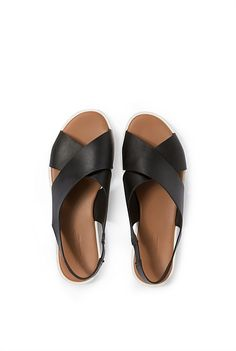Mickie Leather Sandal