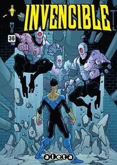 Invencible #36, de Kirkman y Ottley, ya en digital en Koomic. Image. Skybound.