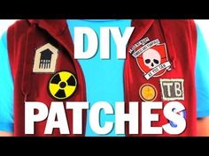 HOW to MAKE PATCHES!! - DIY - Threadbanger - YouTube