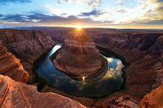 Horseshoe Bend during sunset | I recently went on a photo tr… | Flickr - Photo Sharing!