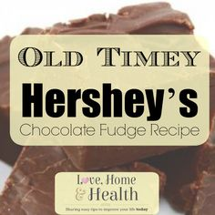 Old tyme homemade chocolate fudge from the old tyme Hershey's Cocoa can .. simmering on the stove - Smells and tastes delicious! Here's how to do it!