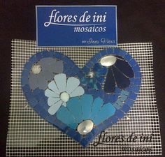 Heart Of Life, I Love Heart, Mosaic Supplies, Love Signs, Tiling, Mosaic Glass, Flower Pots, Heart Shapes, Picture Frames