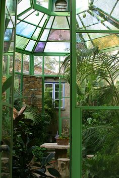 Greenhouse via floradoragardens #Greenhouse