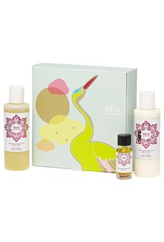 Buy REN Rose Trio Set (Worth and a full range of skincare and beauty products at Beauty Expert, with Free Delivery. Japanese Crane, Japanese Art, Ren Clean Skincare, Rose Oil, Facial Skin Care, Body Wash, How To Relieve Stress, Body Lotion, Essential Oils
