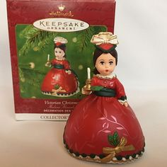 MADAME ALEXANDER 2001 Hallmark Victorian Christmas 6th In Series Ornament #HallmarkKeepsake