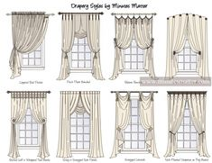 Drapery Style Images From Minutes Matter Studio Graphic Www Minutesmatter Interiordesign
