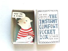 The Instant Comfort Pocket Box - polar bear $12 The Netherlands