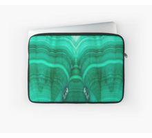 Malachite Laptop Sleeve by lightningseeds® for crystalapertures.rocks.