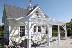 Pergolas: Wall Mount or Freestanding, Customizable: The Barn Yard & Great Country Garages