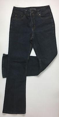 Womens NW ARIANA BK Flap Jean Missy  / Dark Stretch Cotton Denim Size 8    eBay