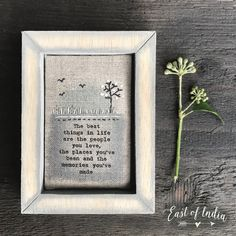 Life Is Good, Presents, India, Memories, Frame, Home Decor, Gifts, Memoirs, Picture Frame