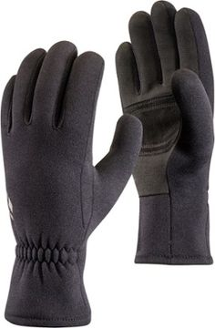 gloves made from socks Combining lightweight stretch with touch-screen compatible palms and fingers, Black Diamond Midweight Screentap fleece gloves bring warmth and functionality to your run, hike or cold-weather commute. Leather Gloves, Suede Leather, Mitten Gloves, Mittens, Black Diamond Equipment, Back Of Hand, Fleece Gloves, Luggage Store, Ski Boots