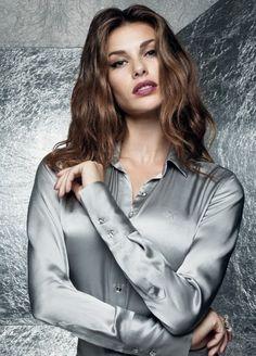 Dudalina-Feminina silk blouse