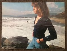Vintage 1978 Leif Garrett By Ocean + Article Magazine Pinup Clipping