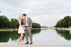 Washington DC Engagement Pictures by Natalie Franke Photography