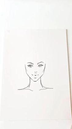 Art Sketchbook Easy Love – Art World 20 Fashion Illustration Hair, Illustration Mode, Fashion Illustration Template, Fashion Illustrations, Fashion Drawing Tutorial, Fashion Figure Drawing, Art Drawings Sketches Simple, Pencil Art Drawings, Dress Design Drawing