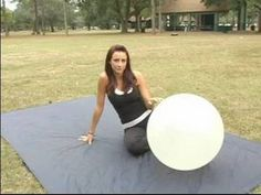How to Use an Exercise Ball : Toning Your Inner Thighs Using an Exercise Ball