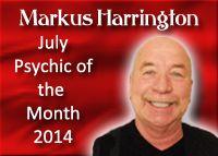 Markus Harrington, Psychic Medium, July 2014, www.bestamericanp..., #bestamericanpsychics, #shayparker, #markusharrington, #BAPAwardWinner