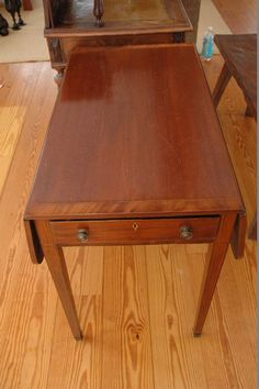 Antique or vintage furniture lot to include a stunning A. Payne and G. Noel, desk, skinny dovetails and beautiful hand carved craftsmanship.
