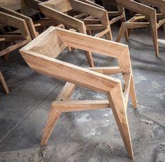 Brillante DIY Möbel Projektideen www. Unique Furniture, Pallet Furniture, Furniture Projects, Furniture Plans, Furniture Design, Wood Projects, Dinning Chairs, Room Chairs, Dining