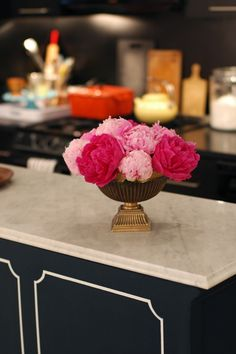 cute little easy detail to spruce up a piece of cabinetry