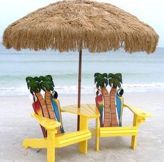 Adirondack Beach Chairs – A Summer Classic http://beachblissliving.com/adirondack-beach-chairs-a-summer-classic/