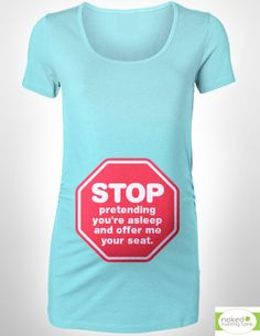 The maternity shirt EVERY mother wishes she could wear!! :) #Maternity #Breastfeeding #NursingTank