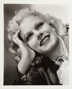 George Hurrell - Jean Harlow (1930s)