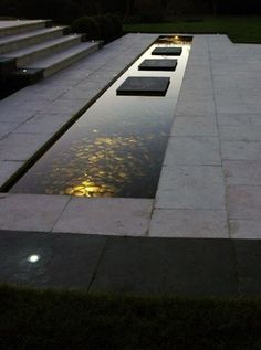 ▷ examples of modern garden design - garden design ideas modern water feature stone floor Best Picture For Pergola tuin For Your Taste - Modern Pond, Modern Landscape Design, Modern Garden Design, Contemporary Garden, Landscape Plans, Modern Landscaping, Backyard Landscaping, Staircase Contemporary, Farmhouse Contemporary
