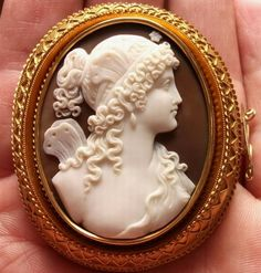 Psyche - The Goddess of Soul - Antique Cameos