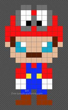 35 Best Super Mario Bros Free Perler Beads Hama Beads Pyssla