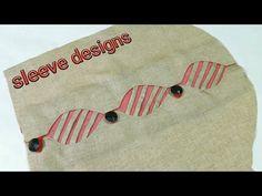Latest Beautiful unique sleeves designs 2018/baju designs / hand designs /suit - YouTube