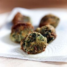 Clean Eating - Spinach Croquetas