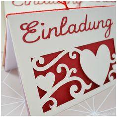 Einladungskarten zur Hochzeit selbst gemacht