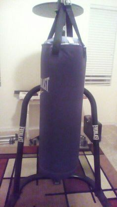 My own boxing stand
