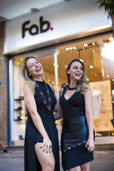 Lud e Fabíola, do blog Fashionistando